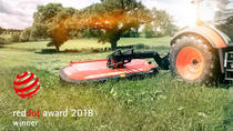Vicon EXTRA 700 Mower Conditioners Receives Prestigious Red Dot Product Design Award 2018